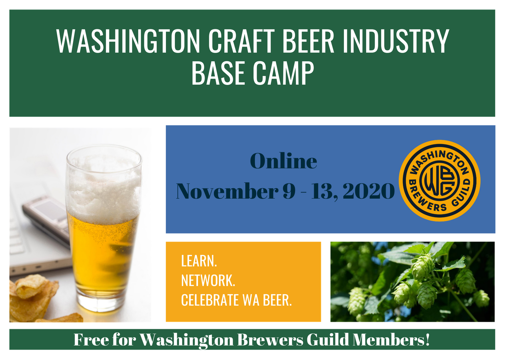 WA Craft Beer Industry Base Camp Crowdcast PNG high quality